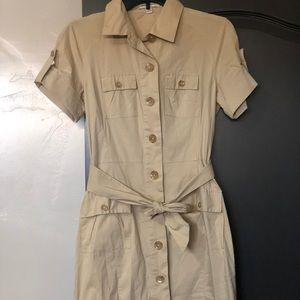Banana Republic Safari Dress with Belt